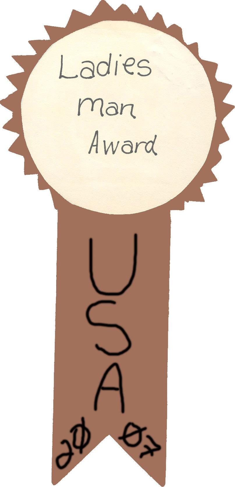 Ladies Man Award