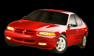 The Red Dodge Stratus